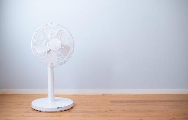 クーラー並みに涼しい!ランキング上位の扇風機を紹介