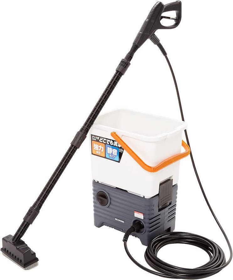 アイリスオーヤマ 高圧洗浄機タンク式ベランダセット